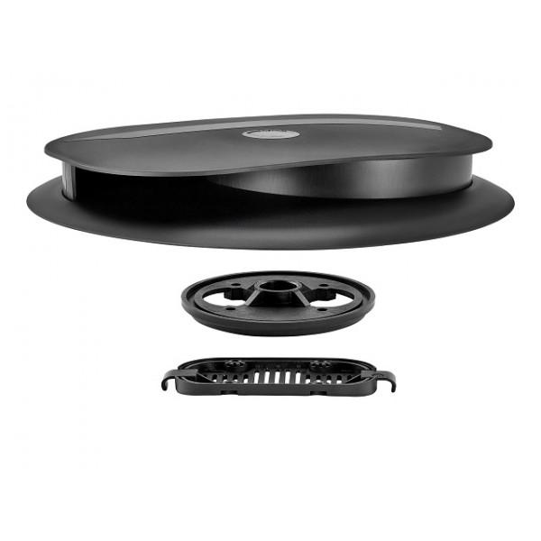 Flettner Slimline LPV™ Ventilator Black/White